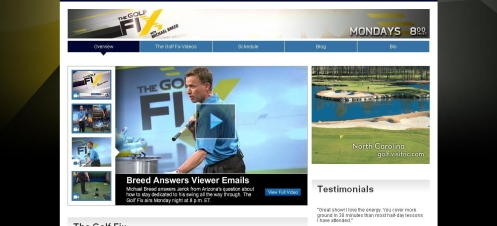 The Golf Fix - Golf TV Shows  - Web site